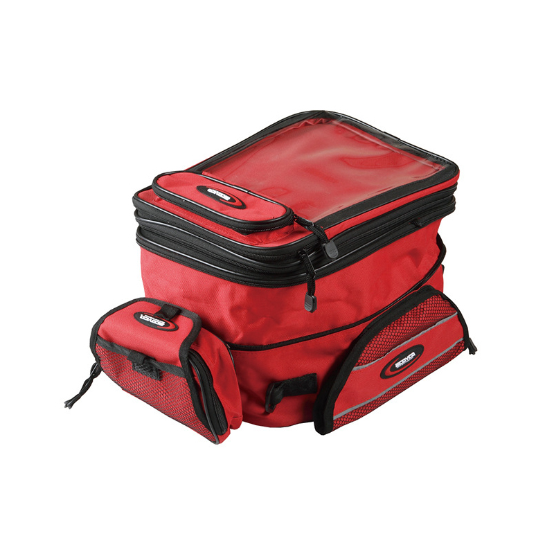 Motorcycle Fuel Tank Bag Motorcycle Bag Magnetic Double Shoulder Backpack Motorcycle Oil Bag