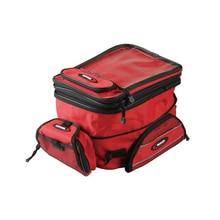 Motorcycle Fuel Tank Bag Magnetic Double-Shoulder Backpack Oil