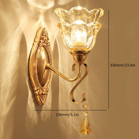 ICOCO Simple European Luxury Wall Light Lamp For Bedroom Living Room TV Background Wall Home Decoration B170
