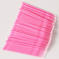 MOONBIFFY 100pcs/lot Durable Micro Disposable Eyelash Extension Individual Applicators Mascara Brush For Women Wholesale