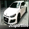 Unpainted PU Material RJ Style Auto Car Bumper Body Kits for VW fit Scirocco Stardand Bumper