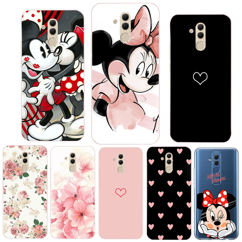 Silicone Phone Case For Huawei Mate 20 Lite Soft TPU Phone For Huawei Mate 10 P20 Lite Pro P30 Lite P Smart 2019 Cover Coque