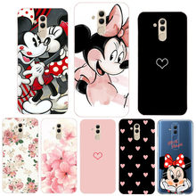 Silicone Phone Case For Huawei Mate 20 Lite Soft TPU Phone For Huawei Mate 10 P20 Lite Pro P30 Lite P Smart 2019 Cover Coque(China)