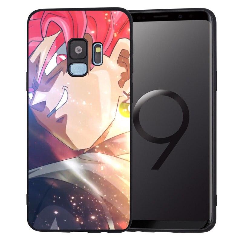 Dragon Ball Z Super Goku Phone Case For Samsung Galaxy S10 Plus S9 S8 S10 Plus S7 S6 Edge S10e Note9 8 Etui Capa