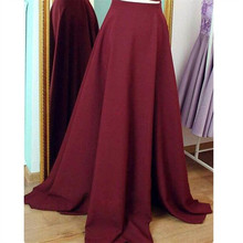 WBCTW Autumn Maxi Solid Elegant High Waist Vintage Pleated Satin Long Party Skirts Fashion Long Warm 7XL Plus Size Woman Skirts