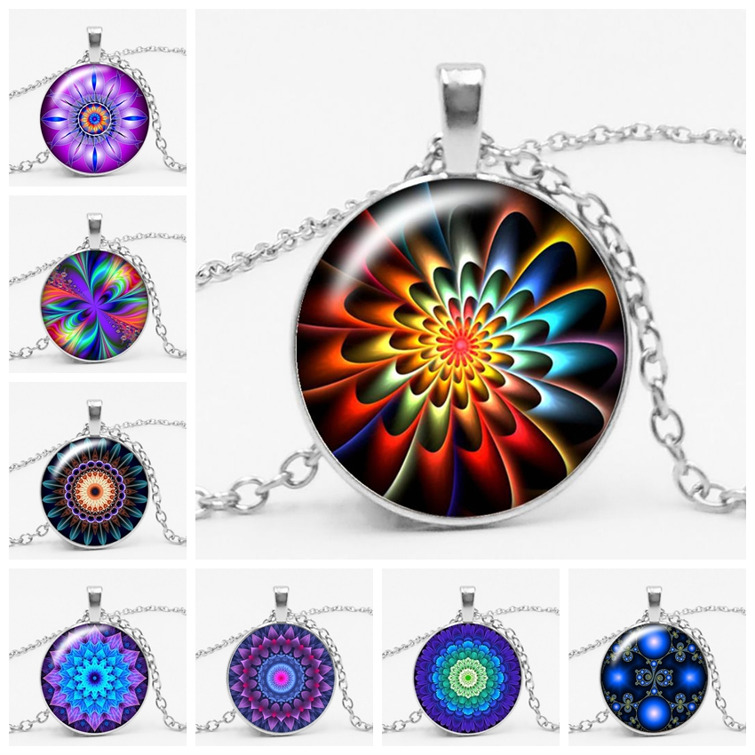 3 Color Fashion Charm Kaleidoscope Buddhist Yoga Mandala Time