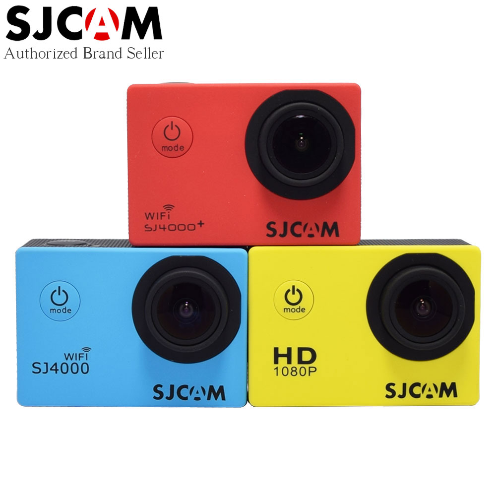 Prix pour D'origine SJCAM SJ4000 Série Action Caméra Vidéo 1080 P Full HD SJ4000 Wifi/SJ 4000 2.0 LCD Étanche Mini DV Sport En Plein Air