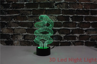 Free Shipping Birthday Gift Table Lamp 3D Led Indoor Acrylic Night Light Supplier With CE And