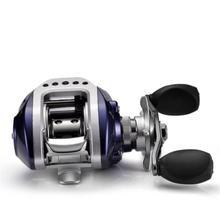 Монтажная спиннинговая Рыболовная катушка 10+ 1 Ось магнитного тормоза алюминиевое Колесо Катушки рыболовные снасти