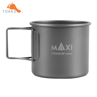 2016 New Mode Titanium CUP Capacity 300 ML Outdoor And Camping Water Cup