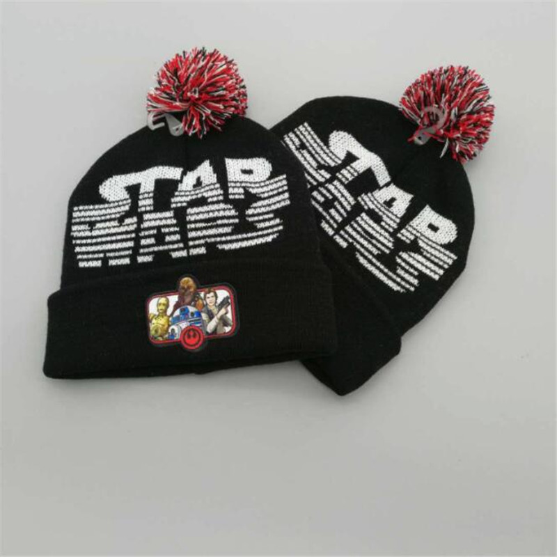 b225c84d2b3 Movie Star Wars Cosplay Costume Accessories Hats Knitted Hat Children Adults  All Can