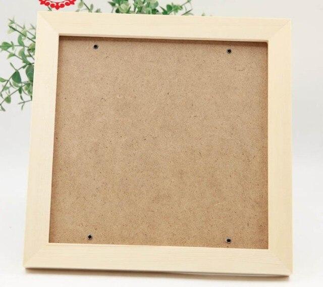1 unids marco de madera interior 20x20 cm exterior 24x24 cm 3 madera ...