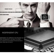 Hot Luxury BT3 0 smart watch wrist Management fitness track font b smartwatch b font for