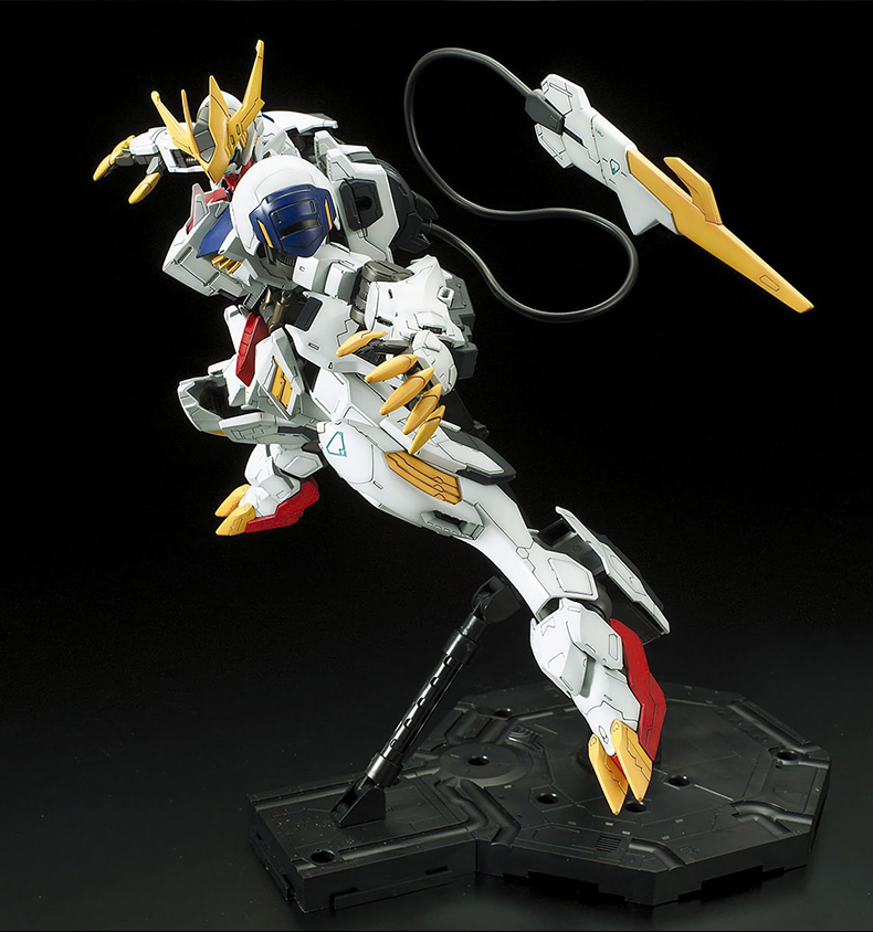 1/100 Barbatos Gundam Iron-Blooded Orphans ASW-G-08 Model Assembled Robot Kids Toys Anime Action Figure Gunpla Juguetes Ban'dai