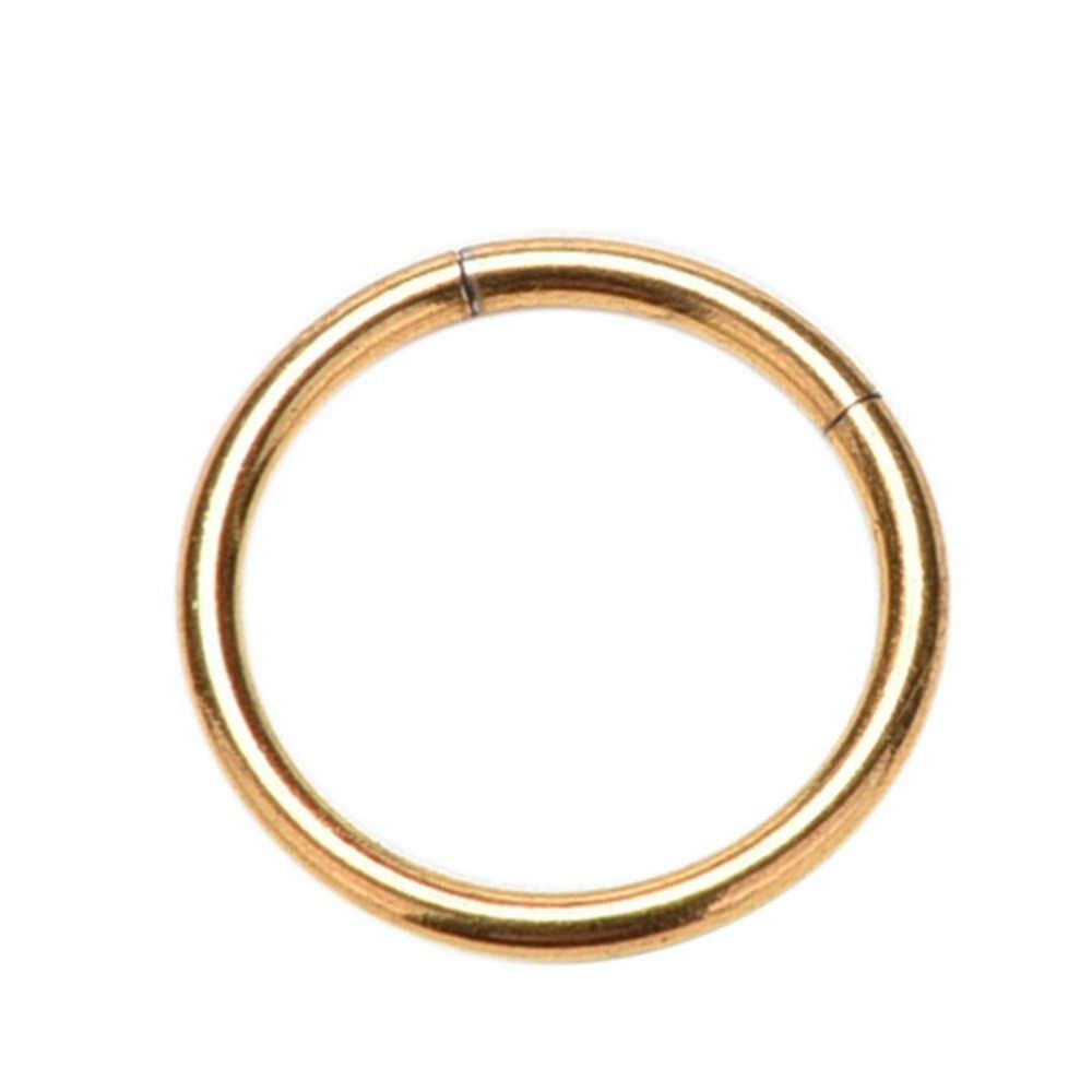 Cô Gái Labret Môi Mũi Trang Sức Khuyên Xỏ Phân Khúc Nhẫn Vòng Tai Lưỡi Cho Nữ, Nhẫn Nữ 3 Màu 1 10 mm