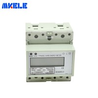 MK LEM011JC AC Energy Meter LCD DIN Rail Mounting Energy Meter Calibration Equipment Electronic Socket Energy Meter Makerele