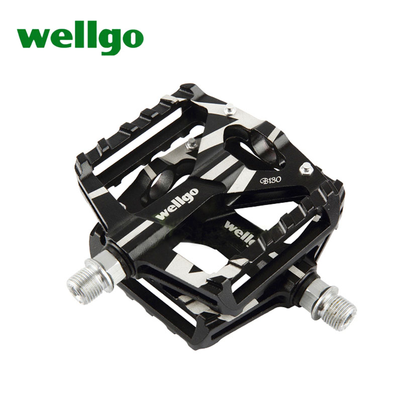 original wellgo pedal kb012 b130 mtb mountain bike pedals Aluminum/Alloy cycling pedals parts cycling cleats wellgo wm001 mtb mountain bike clipless pedals cycling aluminum alloy high quality road bicycle pedal