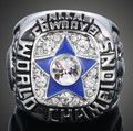 5PCS Give Boy Gift 2016 New Arrival American NFL Champion Replica Ring Dallas Cowboys 1971 Championship Ring Free Shipping