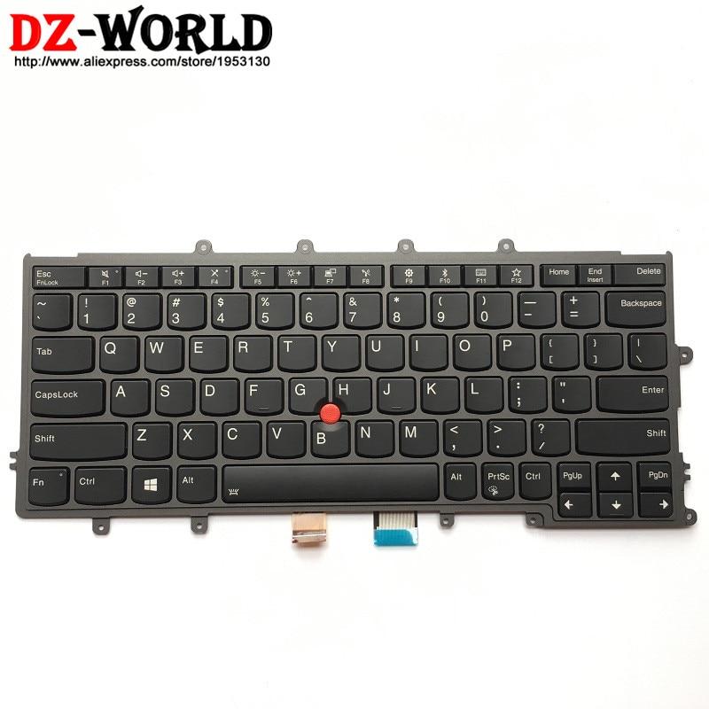 New Original Backlit Keyboard for Lenovo Thinkpad X270 US English Backlight Teclado 01EP062 01EN586 SN20L82650 new original for lenovo thinkpad t470 t480 a475 us english backlit keyboard backlight teclado 01ax569 sn20l72890 01ax487 01ax528
