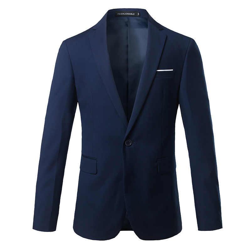 ファッションカスタムジャケットドレス男性のスリムスーツのジャケットサイズ S-4XL 男性のウェディングドレス新郎花婿の付添人ドレス小さなスーツのジャケット