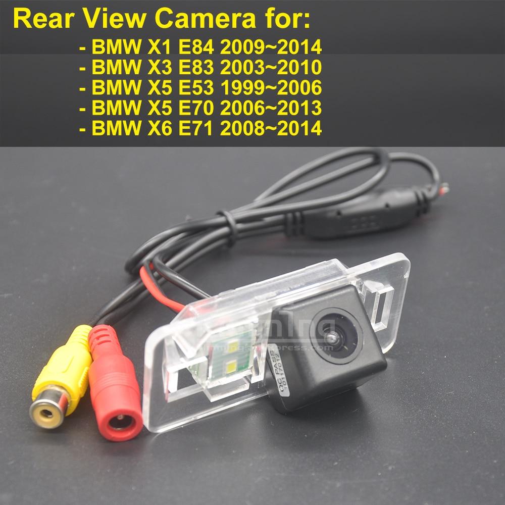 Car rear view camera for bmw x1 e84 x3 e83 x5 e53 e70 x6 e71 wireless