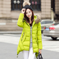 Winter Jacket Women Cotton Padded Coats Fur Collar Thickening Parkas For Women Winter Coat Jackets