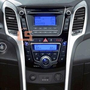 Image 2 - Double Din Car Radio Fascia for Hyundai I 30 I30 2011 2DIN Mount Kit Adapter Trim Facia Panel Frame Dashboard Panel