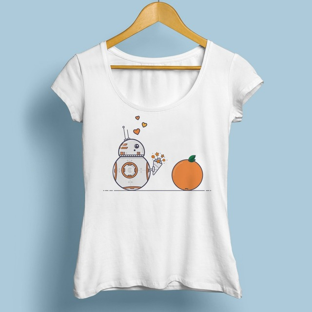 Star Wars Women T-Shirt – BB-8