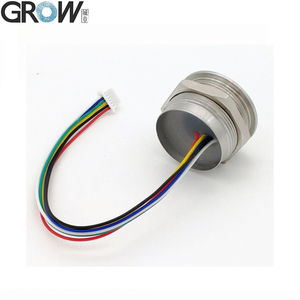 GROW R503 новый круглый двухцветный кольцевой светодиодный индикатор управления DC3.3V MX1.0-6pin емкостный модуль датчика сканер отпечатков пальцев
