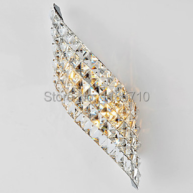Modern wall light crystal wall sconce high-end crystal wall lamp Contains LED bulb free shippingModern wall light crystal wall sconce high-end crystal wall lamp Contains LED bulb free shipping