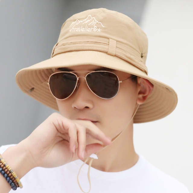 19c9294c487 placeholder 2018 New Spring Men women Travel Cap Sun Hats Summer Fashion Men  Bucket Hat Holiday Seaside