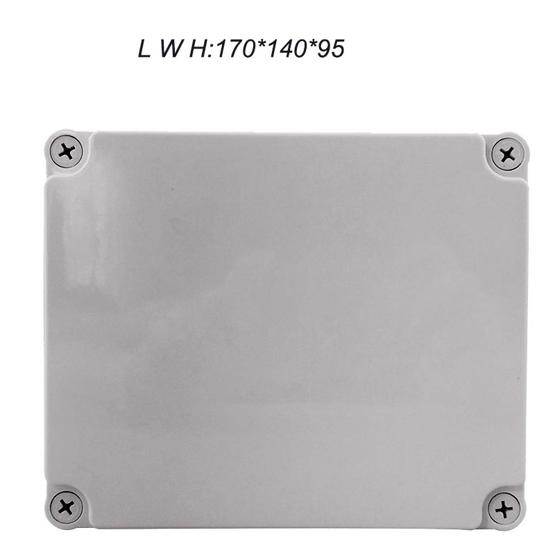 170*140*95mm Plastic Box Waterproof Plastic Junction Box CE Standard Waterproof Box Electric Waterproof Box IP67 IK08 4pcs a lot diy plastic enclosure for electronic handheld led junction box abs housing control box waterproof case 238 134 50mm