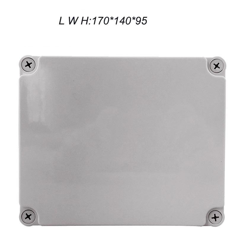 170*140*95mm Plastic Box Waterproof Plastic Junction Box CE Standard Waterproof Box Electric Waterproof Box IP67 IK08  цены
