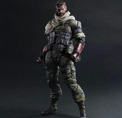 Square Enix Play Arts Kai Metal Gear Solid V Venom Snake Action Figure Toy Collectibles Model Doll 188 metal gear solid v the phantom pain play arts flaming man action figure super hero