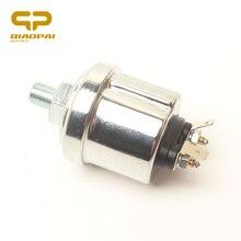 High Performance Engine Oil Pressure Sensor With Warning Contact 0-10bar 18NPT  Oil Pressure Sender G WK