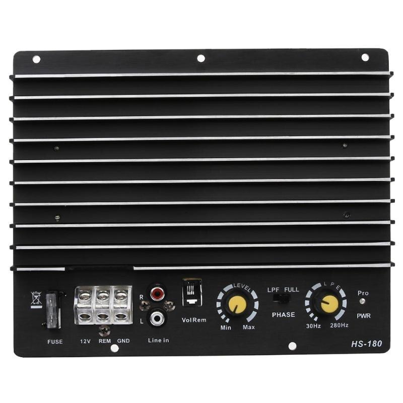 VODOOL 12 V Auto Audio Amplificateur Puissance Subwoofer Son Amplificateur Conseil 100 W 150 W Voiture Stéréo Audio Subwoofer Puissance amplificateur Conseil