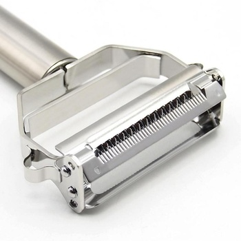 High Quality Stainless Steel Potato Cucumber Carrot Grater Julienne Peeler Vegetables Fruit Double Planing Tools 5