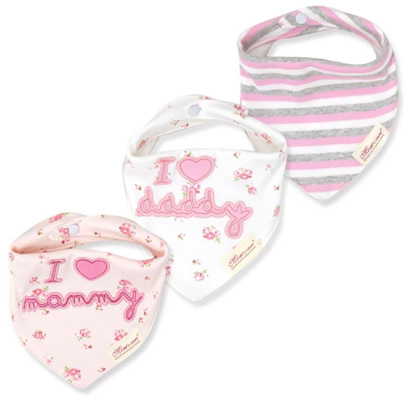 WHTLY 3 stks / partij Baby slabbetjes burp speeksel handdoek cartoon - Babykleding - Foto 6
