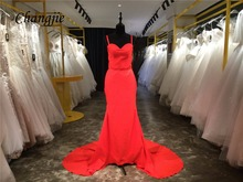 Long Wedding Party Dresses Custom Made
