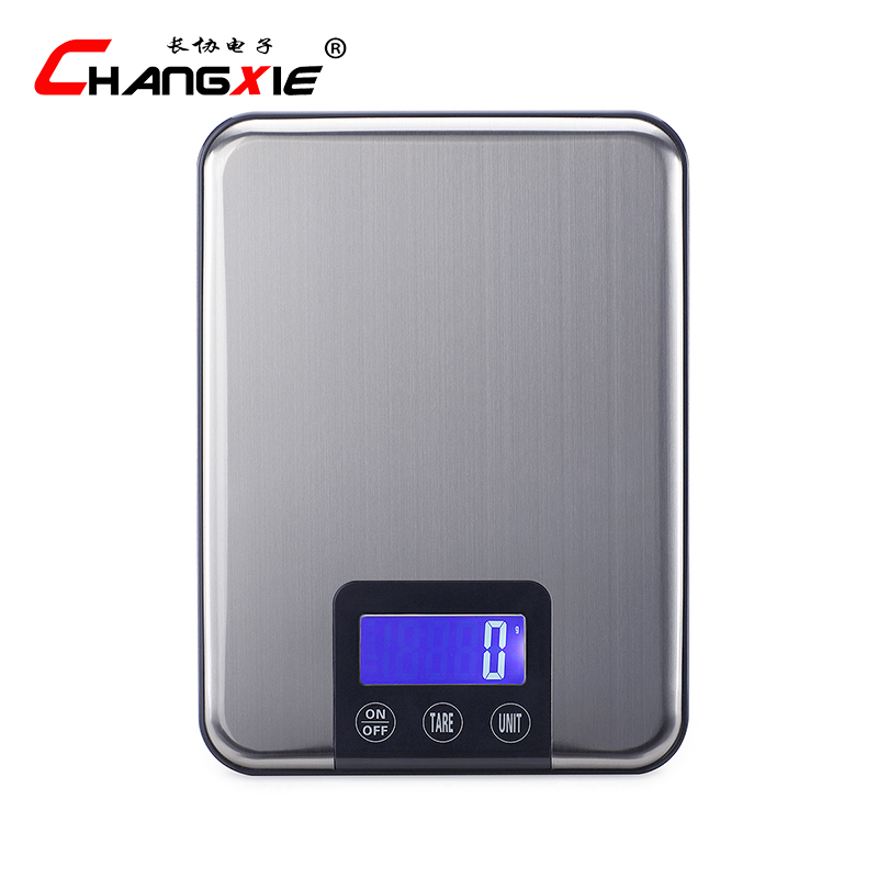 15kg 1g lcd display kitchen scales stainless steel high precision electronic scales grams weighing baking scale jewelry scalein weighing scales from home