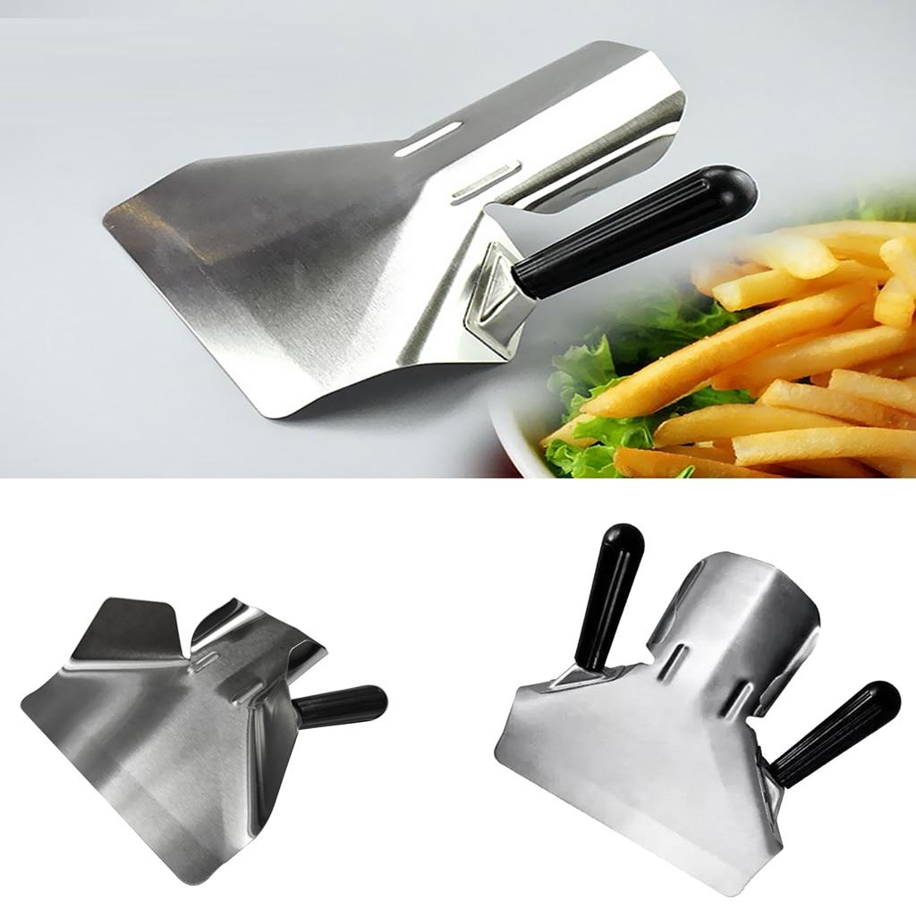 Chip Bagger Chip Shovel Stainless Steel Chip Scoop