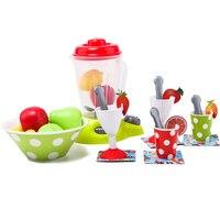27Pcs Simultion Fruit Juicer Pretend Play Toys Educational Kid Kitchen Fun Miniature Toys for Children