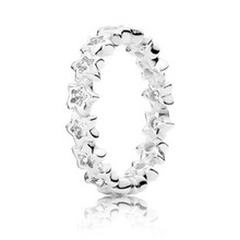 Trendy New 100% 925 Sterling Silver Cubic Zirconia Shinning Ring For Women Engagement Wedding Gift Fine Europe Jewelry Original цены