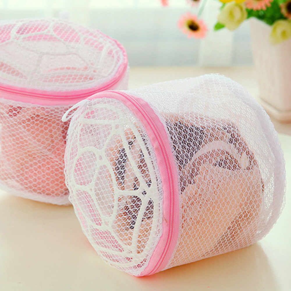 2019 NewLingerie Washing Home Use Mesh Clothing Underwear Organizer Washing Bag Useful Mesh Net Bra Wash Bag zipper Laundry Bag