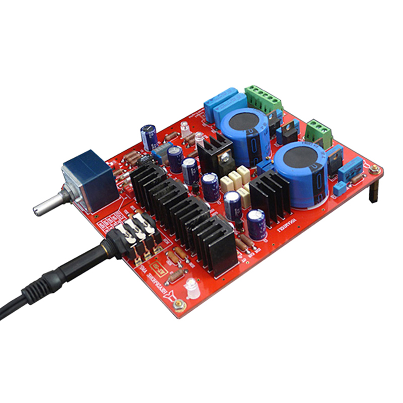 DIY LEHMANN AMP OPA2134PA HiFi Stereo headphone amplifier board for  HD580/HD600/HD650 AC15-22V T0505