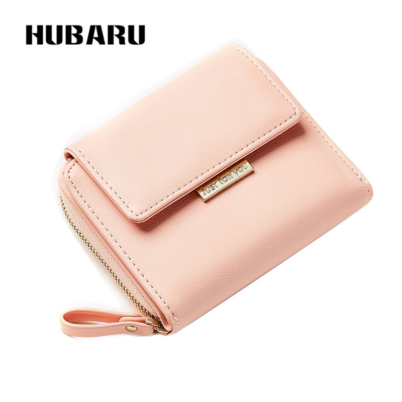 HUBARU New Fashion Kvinnor Korta Plånböcker Magnet Stängning PU - Plånböcker - Foto 3