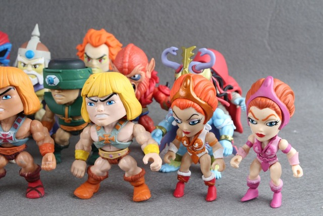 All Masters of the Universe HE-MAN Action Figures