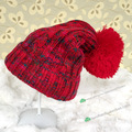 Colorful Winter Christmas Women Beanie Knit Hat Hip-Hop Cap For Men Women's Autumn fall Knit Cotton Skullies pom poms Wool Hat