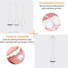 Oral Irrigator USB Rechargeable Water Flosser Portable Dental Cleaner