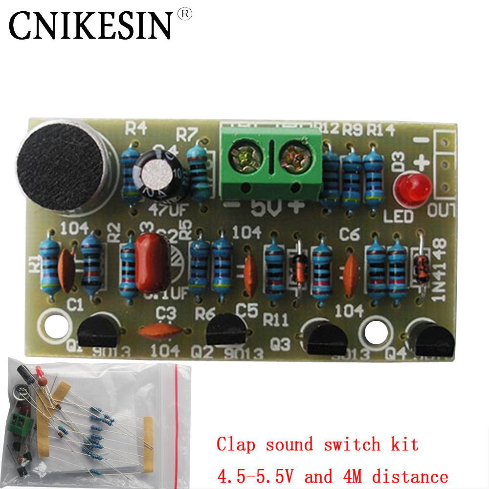 Online Buy Wholesale Hand Clap Switch From China Hand Clap Switch - Clap sensitive on off relay